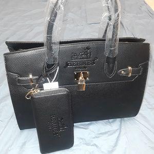 Handbag with Wallet